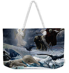 Ahasuerus At The End Of The World Weekender Tote Bag by Adolph Hiremy Hirschl