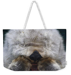 Weekender Tote Bag featuring the photograph Ahhhhhhhh by Nick Gustafson