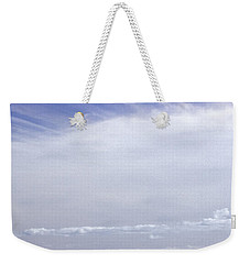 Weekender Tote Bag featuring the photograph Ahoy Bounty Island Resort by T Brian Jones