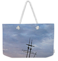 Ahoy Weekender Tote Bag by David and Lynn Keller