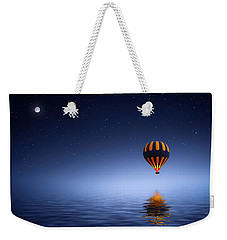 Weekender Tote Bag featuring the photograph Air Ballon by Bess Hamiti
