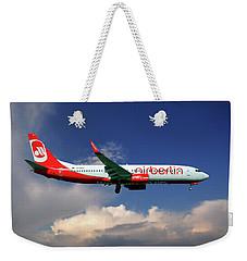 Air Berlin Boeing 737-800 Weekender Tote Bag