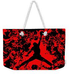 Air Jordan 1b Weekender Tote Bag by Brian Reaves