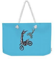 Air Riders Weekender Tote Bag by Caitlyn Grasso