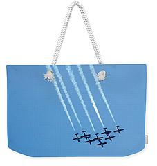 Air Show 3 Weekender Tote Bag