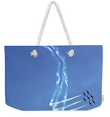 Air Show 8 Weekender Tote Bag