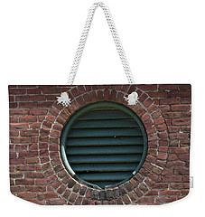 Air Vent In Brick Wall Weekender Tote Bag