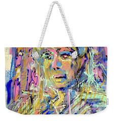 Airbrush 2 Weekender Tote Bag by Pierre Van Dijk
