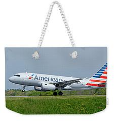 Airbus A319 Weekender Tote Bag