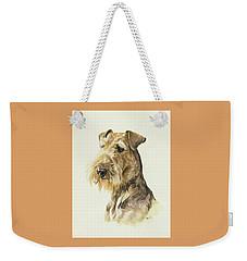 Airedale Weekender Tote Bag