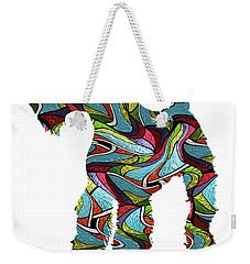 Airedale Terrier Sprit Glass Weekender Tote Bag
