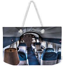 Airplane Interior Weekender Tote Bag