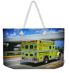 Airport Ambulance Weekender Tote Bag