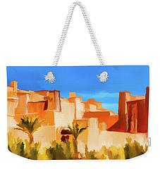 Ait Benhaddou Morocco Weekender Tote Bag by Wally Hampton