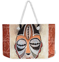 Aje Mask Weekender Tote Bag by Bankole Abe