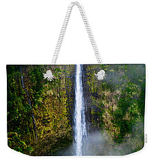 Akaka Falls Weekender Tote Bag by Christopher Holmes