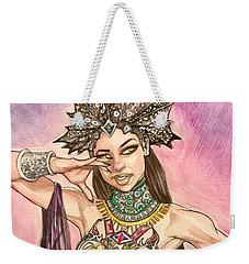 Akasha  Weekender Tote Bag by Jimmy Adams