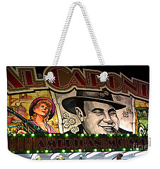 Al Capone On Funfair Weekender Tote Bag