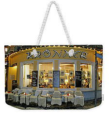 Al Fresco Dining Bavarian Style Weekender Tote Bag