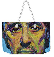 Al Pacino Weekender Tote Bag by Robert Phelps