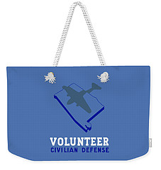Weekender Tote Bag featuring the painting Alabama Civilian Defense - Wpa by War Is Hell Store