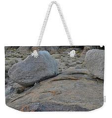 Alabama Hills Boulders At Dusk Weekender Tote Bag