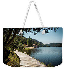 Weekender Tote Bag featuring the photograph Alamal Beach by Carlos Caetano