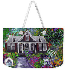 Alameda 1854 Gothic Revival - The Webster House Weekender Tote Bag