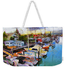Alameda Life On The Estuary 2 Weekender Tote Bag