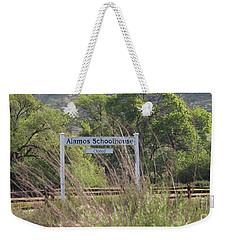 Alamos Schoolhouse Weekender Tote Bag by Suzanne Oesterling