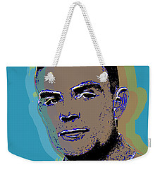 Alan Turing Pop Art Weekender Tote Bag