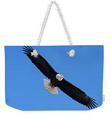 Alaska Bald Eagle Weekender Tote Bag