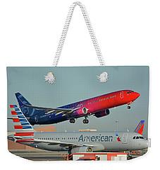 Alaska Boeing 737-900 N493as More To Love Phoenix Sky Harbor October 27 2017 Weekender Tote Bag