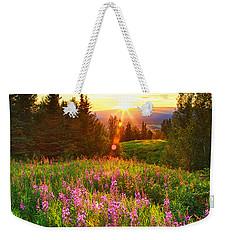 Alaska Field Weekender Tote Bag
