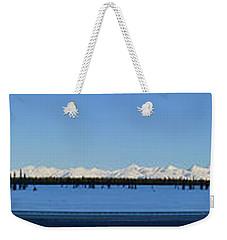 Alaska Highway Panorama Weekender Tote Bag