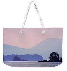 Alaska Landscape Weekender Tote Bag
