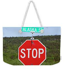 Alaska Street Weekender Tote Bag