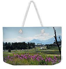 Alaska The Beautiful Weekender Tote Bag