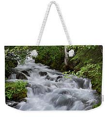 Alaska Waterfall Picture  Weekender Tote Bag