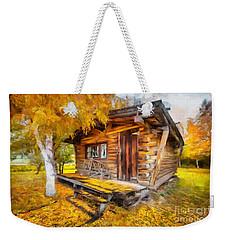 Alaskan Autumn Weekender Tote Bag