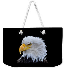 Weekender Tote Bag featuring the photograph Alaskan Bald Eagle by Diane E Berry