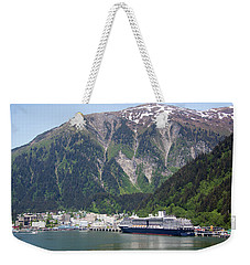 Alaskan Capital Weekender Tote Bag