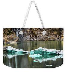 Alaskan Icebergs Weekender Tote Bag