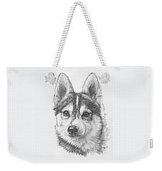 Alaskan Klee Kai Weekender Tote Bag