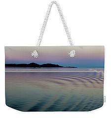 Alaskan Sunset At Sea Weekender Tote Bag