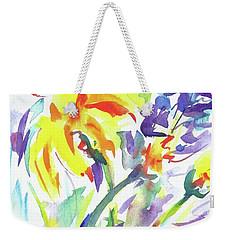 Alaskan Wildflowers Weekender Tote Bag