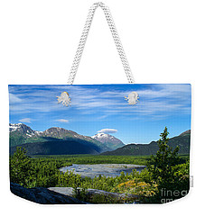 Alaska's Exit Glacier Valley Weekender Tote Bag