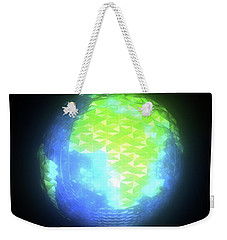 Albedo - Africa And Europe By Day Weekender Tote Bag