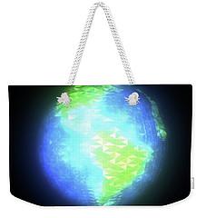 Albedo - Americas By Day Weekender Tote Bag