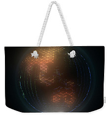 Albedo - Asia And Australasia By Night Weekender Tote Bag